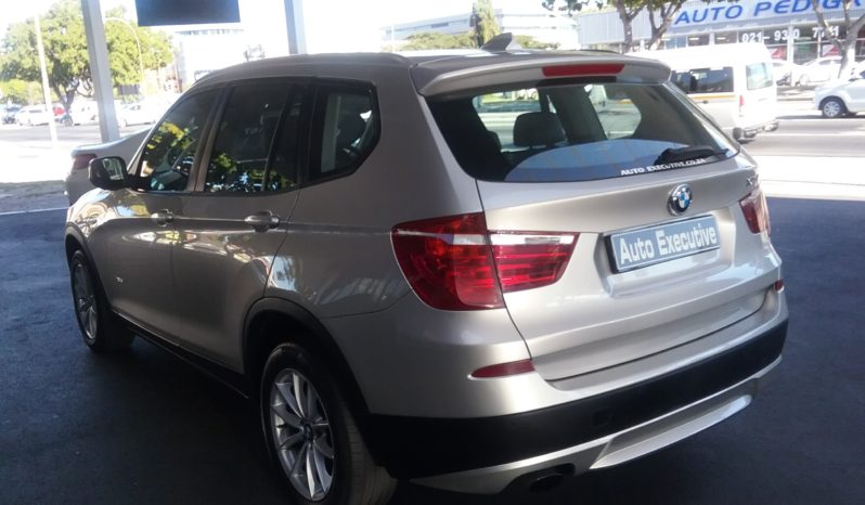 BMW X3 20d XDRIVE 2012 FOR SALE IN WESTERN CAPE full