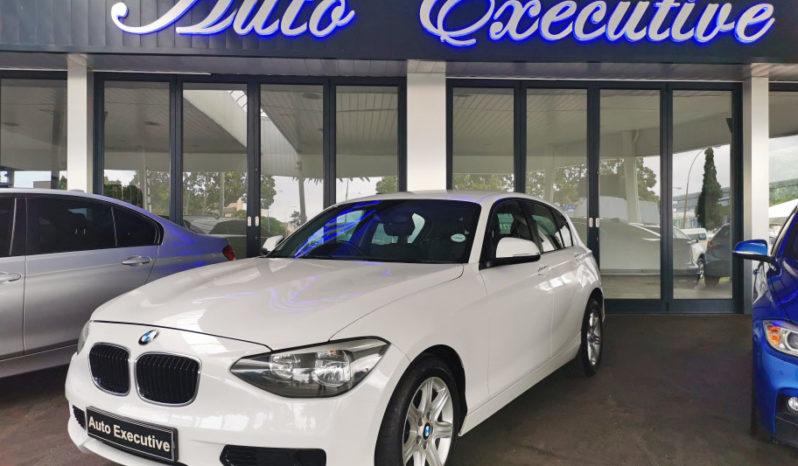 2012 BMW 118i 6 Speed full